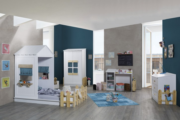 Kinderzimmer Set Sweet Home in Blau
