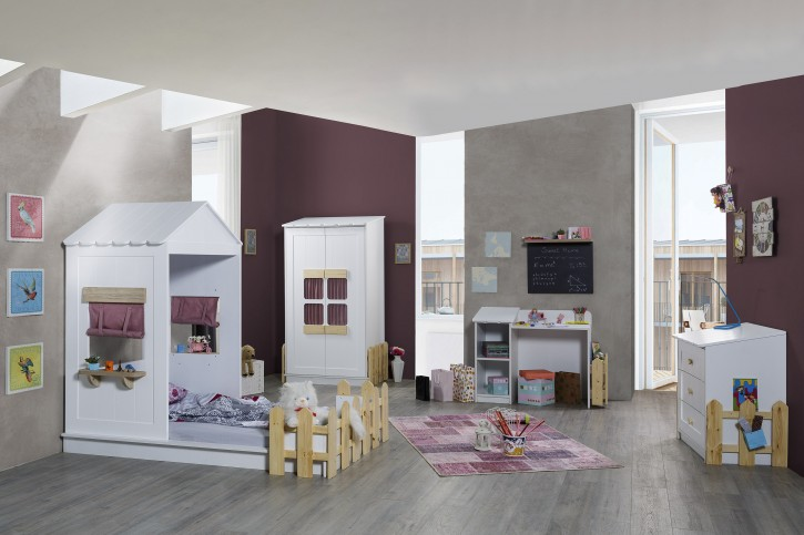 Mädchen-Kinderzimmer Set Sweet Home in Pink