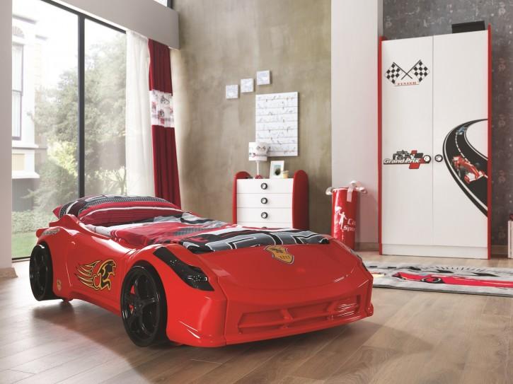 Racer Mini Autobett Kinderzimmer 3-teilig