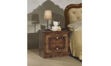 Nachtkonsole walnuss Lucy für Schlafzimmer Klassik Stilmöbel