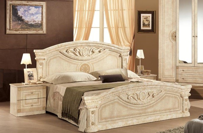 kommode rana mit spiegel in beige klassik com r rn spech. Black Bedroom Furniture Sets. Home Design Ideas