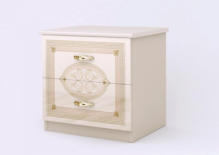 Nachtkonsole Lana in beige creme klassisch Barock Stilmöbel
