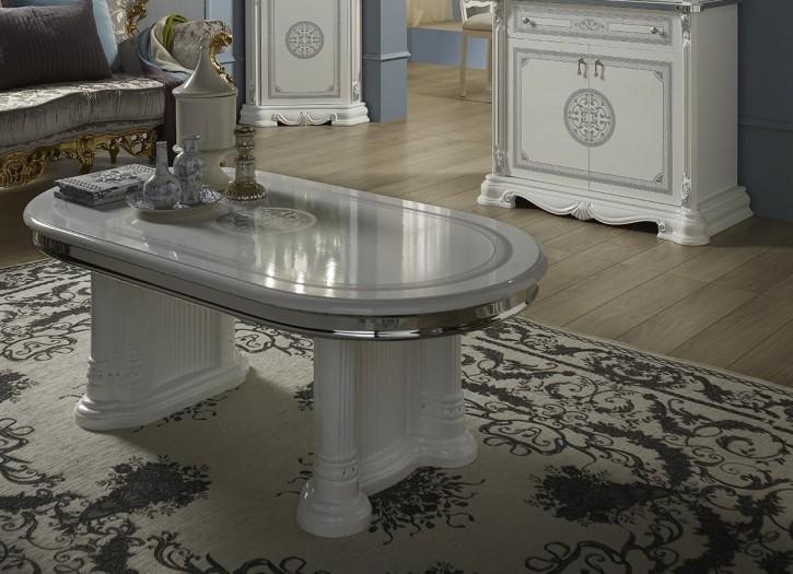 Couchtisch Great weiss silber italienisch Stilvolle Möbel