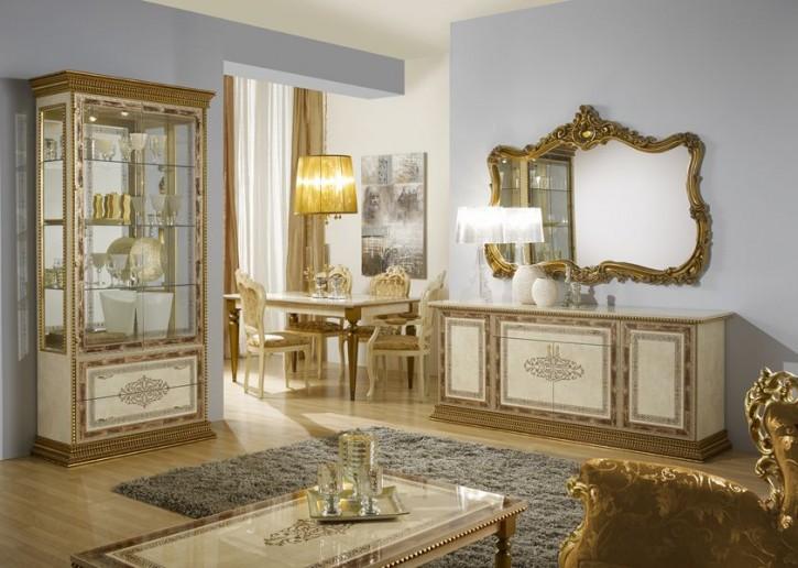 Esszimmer Jenny beige gold Italien Möbel Luxus Barock Bonn Alfte