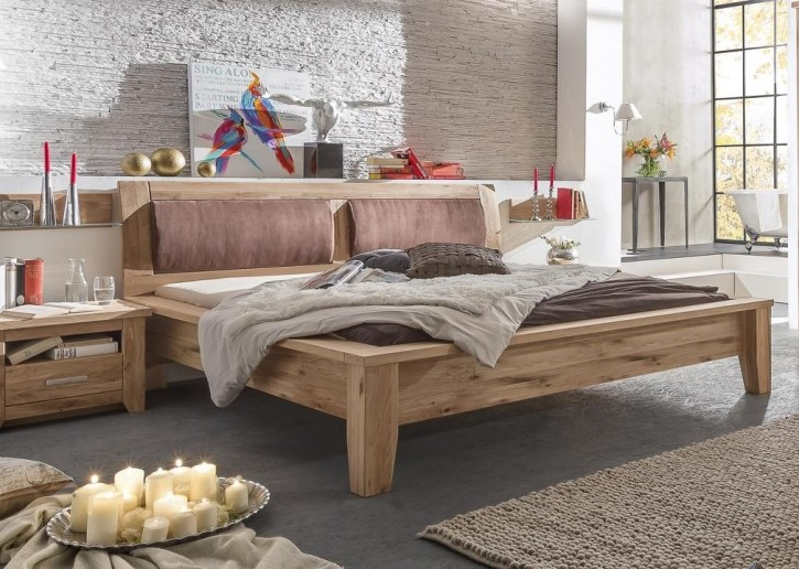 bett 200x200 cm tina landhausstil asteiche massiv ge lt 50. Black Bedroom Furniture Sets. Home Design Ideas