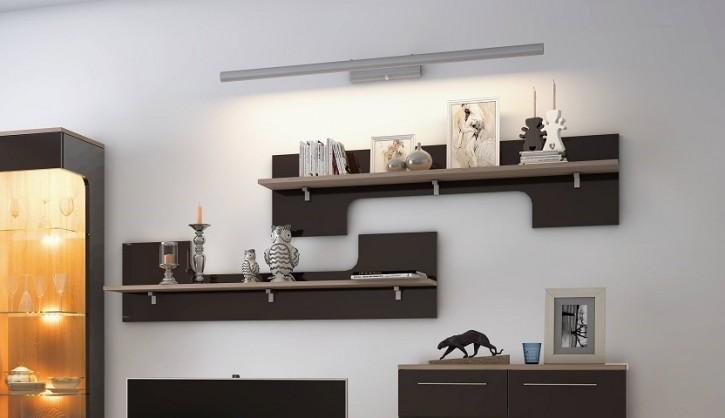 Hängeregal Tera in braun für Wohnzimmer elegante Möbel