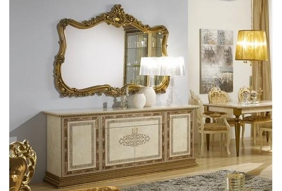Jenny Kommode beige gold für Wohnzimmer Buffetschrank