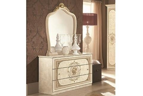 Kommode mit Spiegel Alice in beige creme Schlafzimmer-XP_PKALCCOM1Spech