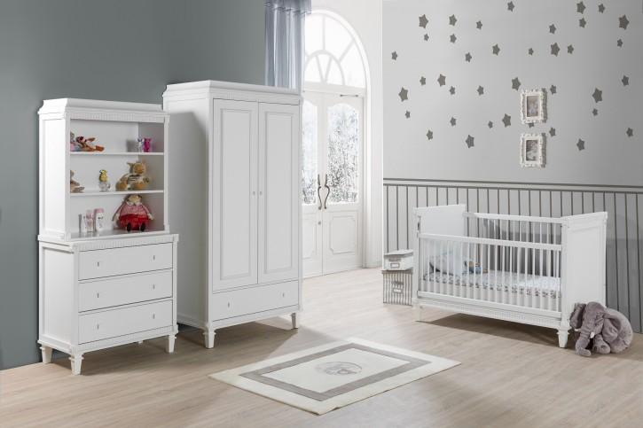 Babyzimmer Hazeran 70x130 cm weiss Landhausstil Traum