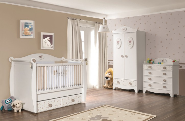 au ergew hnliche babyzimmer set. Black Bedroom Furniture Sets. Home Design Ideas