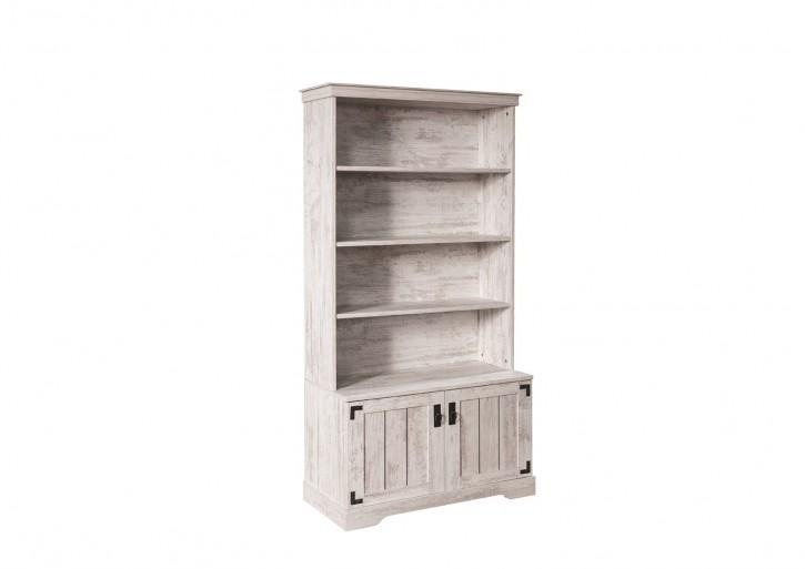 Bücherregal Woodlife weiss im landhausstil