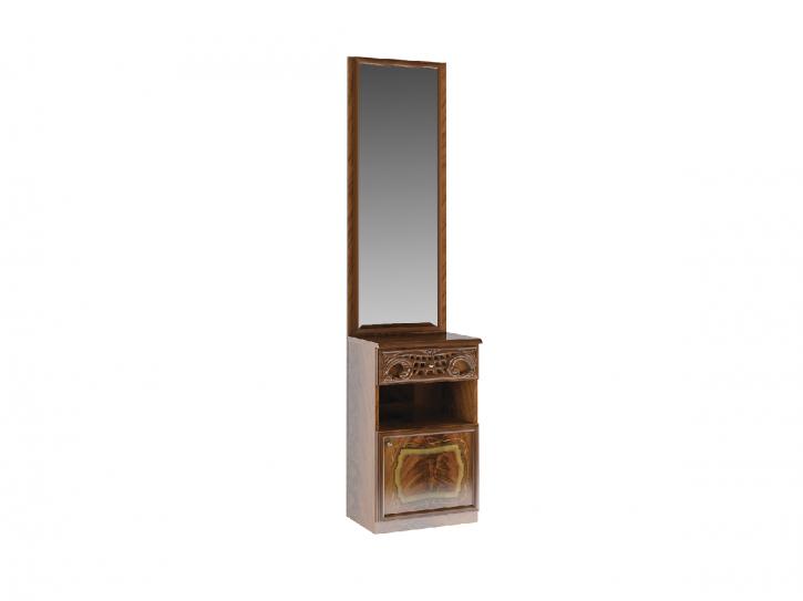 Sideboard mit Spiegel Rozza in walnuss für Diele