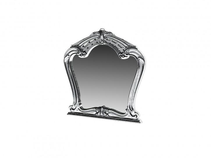 Spiegel Rozza silber für Kommode Barock