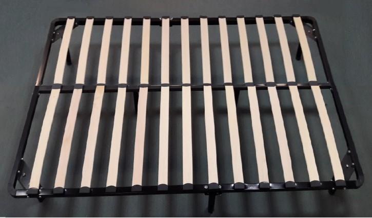 Lattenrost für Bett 160x200cm inkl. Füße aus Metall