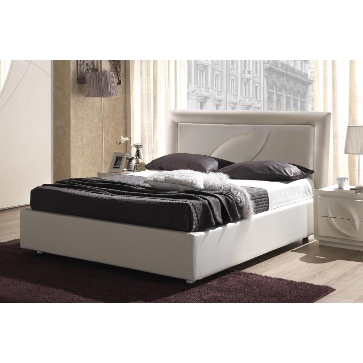 Bett 160x200 cm Trevia in weiss Stilvoll elegante Möbel