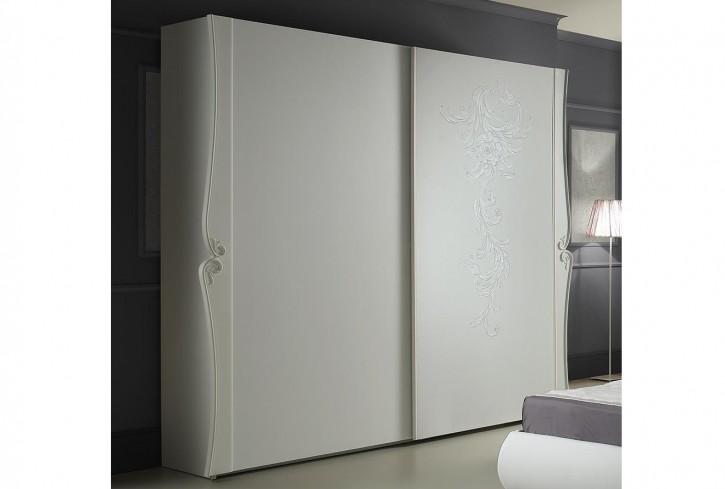 Schiebetürenschrank Doria in weiss elegant Moderne Möbel