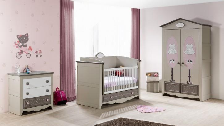 Babyzimmer weiß beige  Komplett Kinderzimmer für mädchen und Jungen