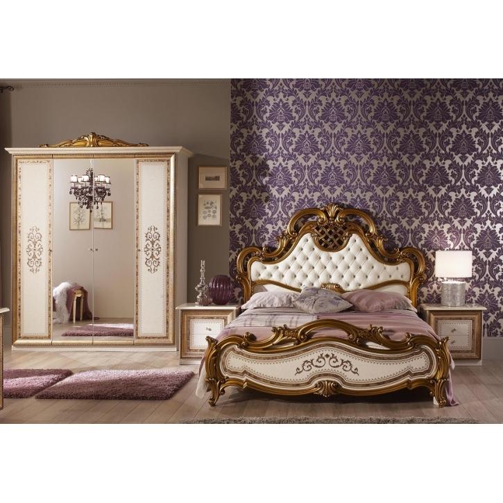 Awesome Schlafzimmer Anja Beige Italien König Bett 160 Kls 4 Trg 4tlg Images