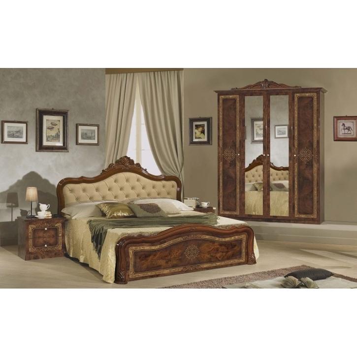 Schlafzimmer Set Lucy in Walnuss 7-teilig