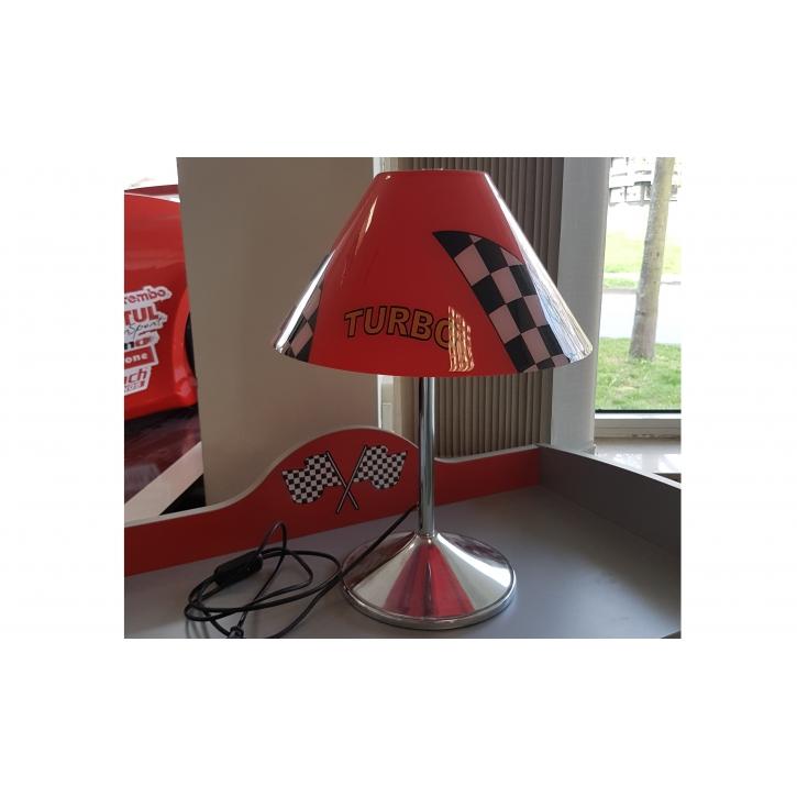 Tischleuchte Turbo schwarz-rot Nur Abholung