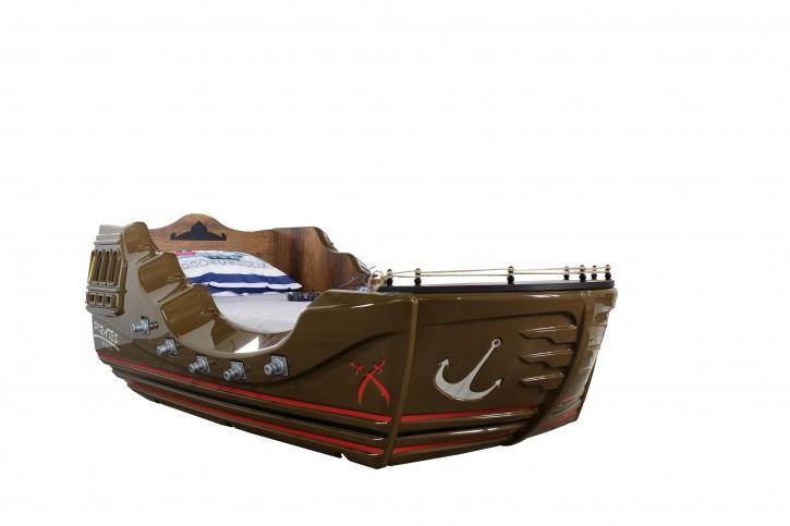 Boot Bett Marine Captain Pirates für kleine Seemänner