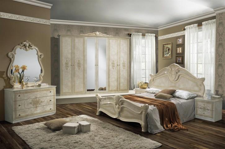 Schlafzimmer Amalia 7-teilig in Beige