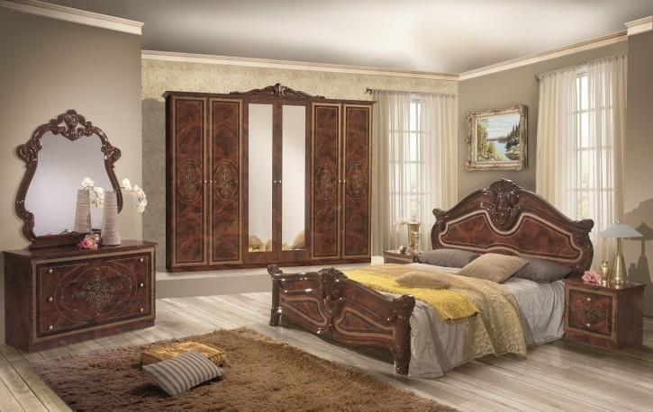Schlafzimmer Amalia 7-teilig in Walnuss