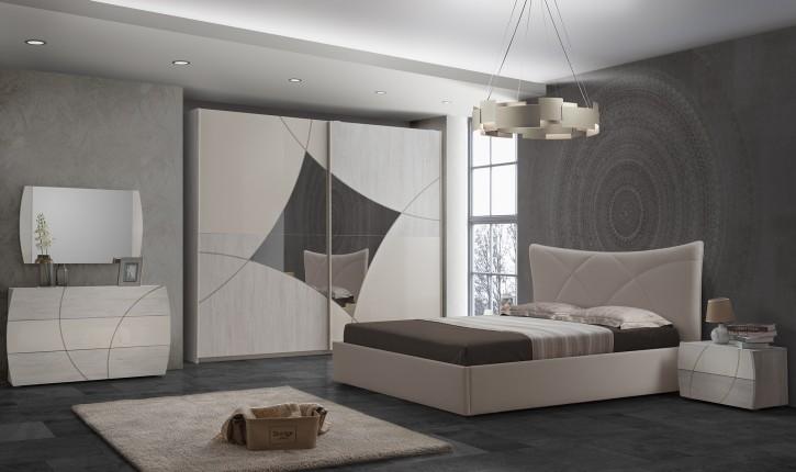 Schlafzimmer Ato modern Set creme beige
