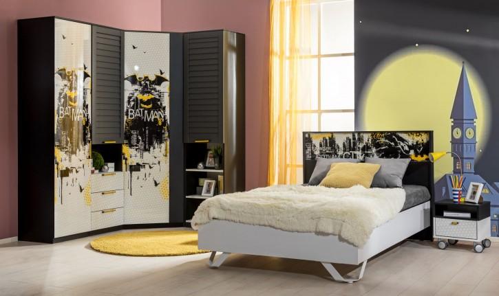 Jugendzimmer Set Batman 6-Teilig Fledermaus