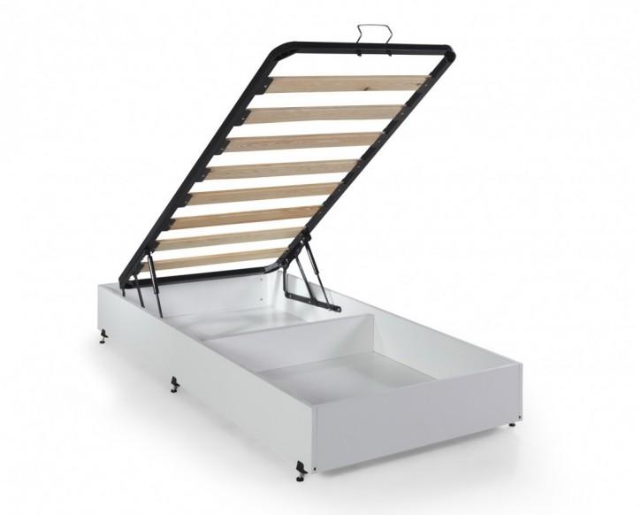 Bettkasten Anka Up mit Stauraum Baza in Weiß 90x190 cm für Autobett