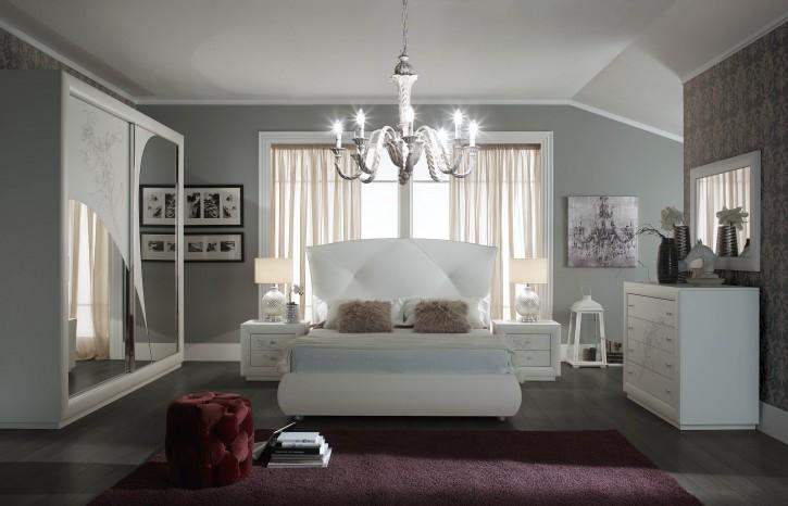 Schlafzimmer Set Camilla in Weiß