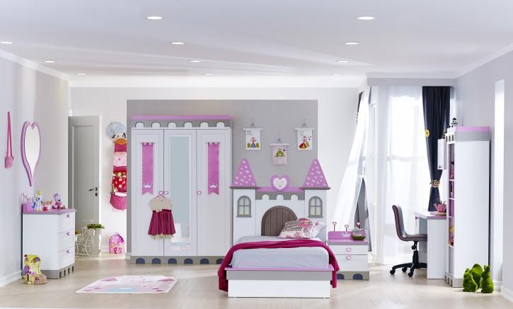 Kinderzimmer Castle 8 tlg Prinzessin Schloss