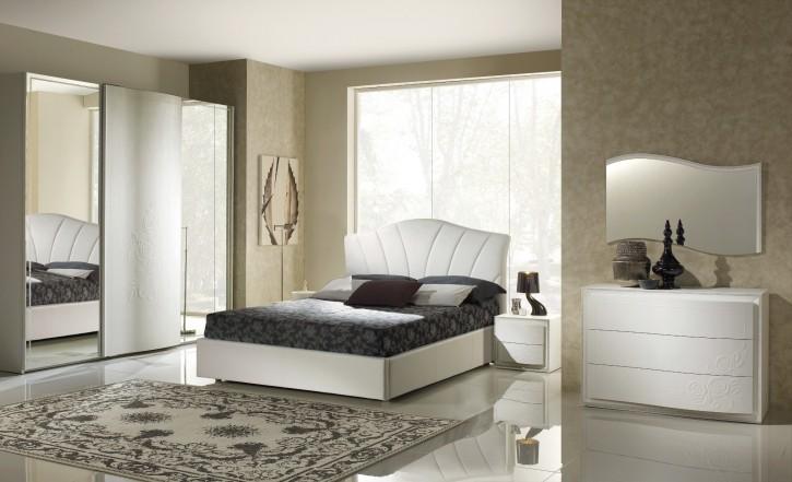 Schlafzimmer Set Canel in Weiß modern Design