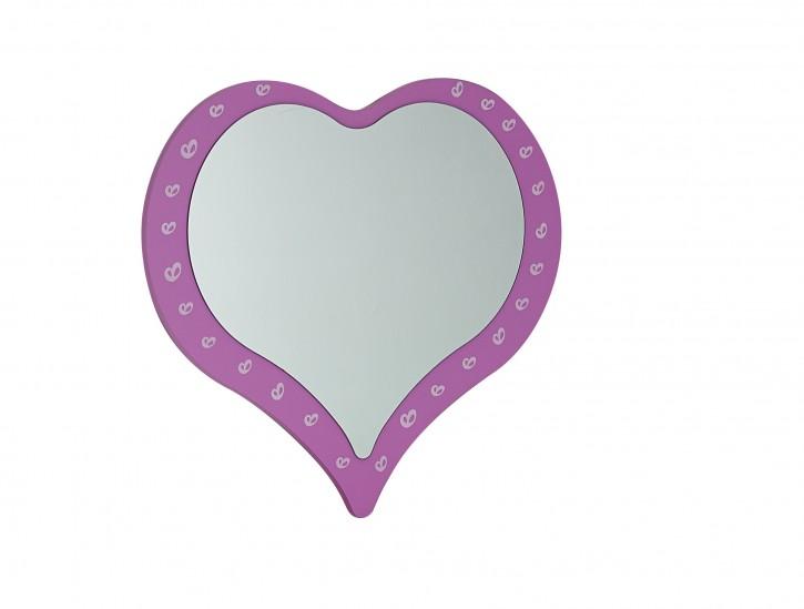Herzspiegel Prinzessin Castle in Pink