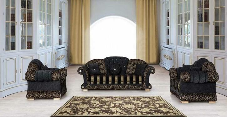 Sofa Couch Set Venus 3+2+1 mit Schlaffunktion