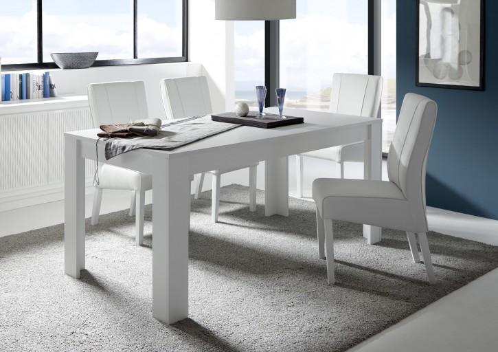 Tisch Fren 180 x 90 cm weiss lack matt
