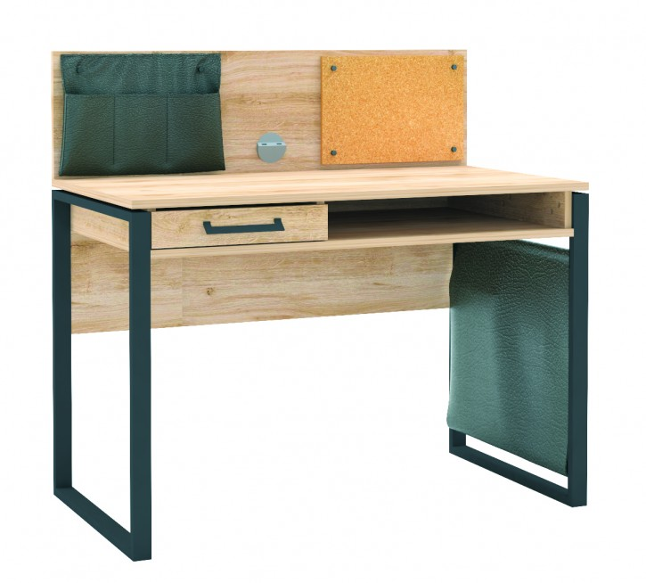 Schreibtisch Irony mit USB Holzoptik