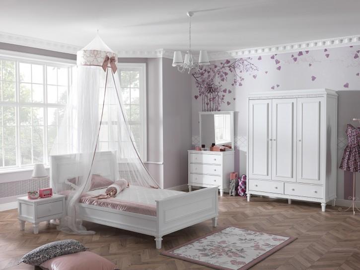 Kinderzimmer Hazeran weiss Landhausstil 6 teilig