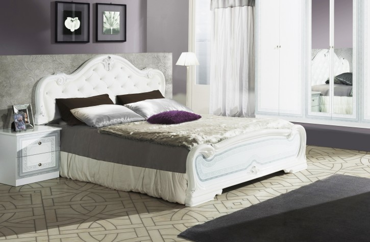 g ntiges bett sch nes bett in weiss bett 160. Black Bedroom Furniture Sets. Home Design Ideas