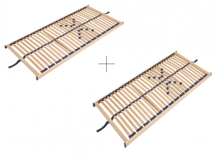 Lattenrost Set für Bett 160x200cm 2x 80x200 cm