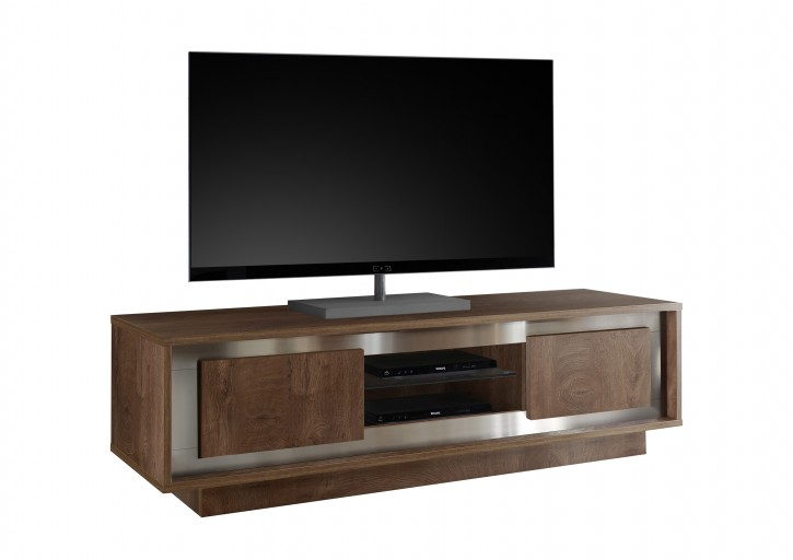 TV-Element Sero in eiche cognac TV-Lowboard