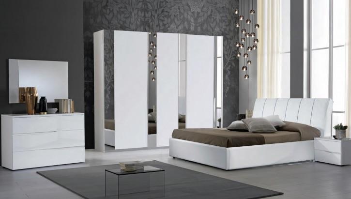 Schlafzimmer Set Frozen in Weiss