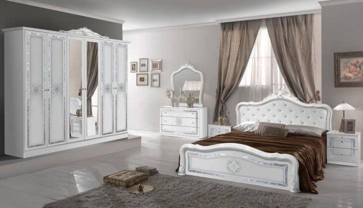 Schlafzimmer Set Lucy in Weiss
