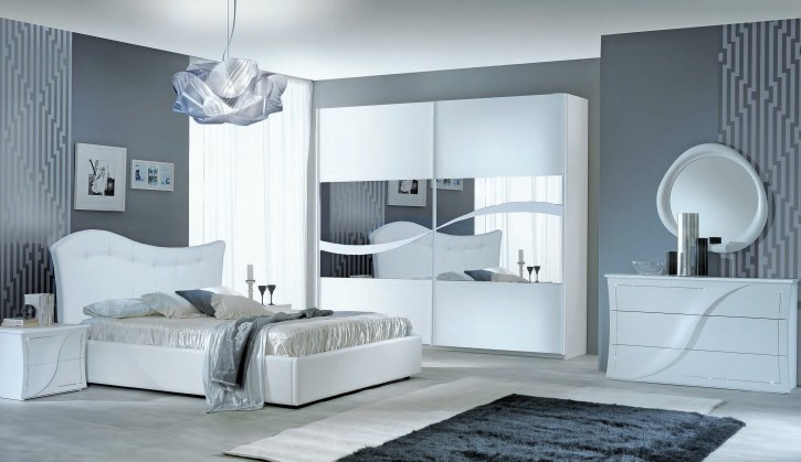 Schlafzimmer Set Mabel in Weiß