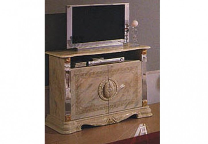 TV- Unterschrank Betty in Beige Barock Klassik
