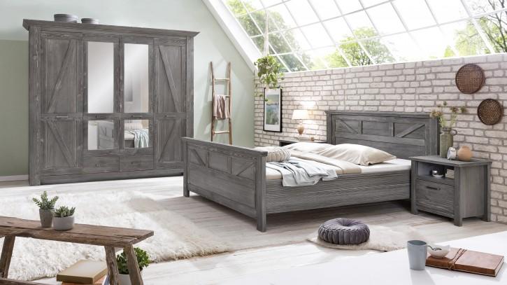 Schlafzimmer Baleo Altkiefer teilmassiv