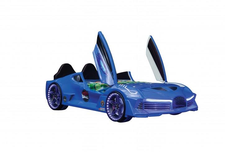 """Autobett """"Moon Aero"""" in Blau"""