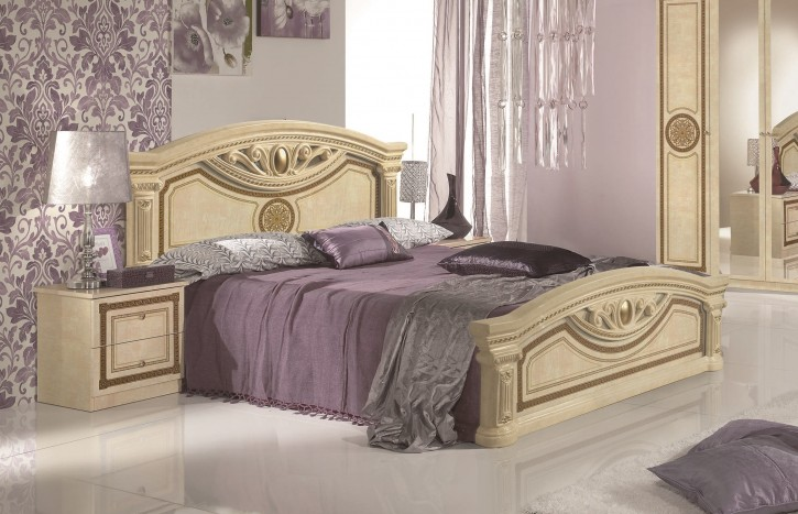 bett barock g nstiges bett luxus bett. Black Bedroom Furniture Sets. Home Design Ideas