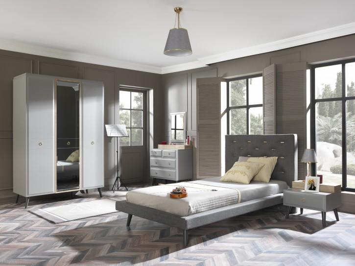 Schlafzimmer LUNA, 5-tlg.