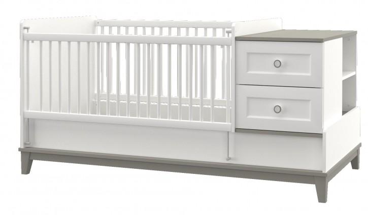 Babybett Mia vergrößerbar 80x130-180cm
